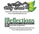 logo for villas and reflections